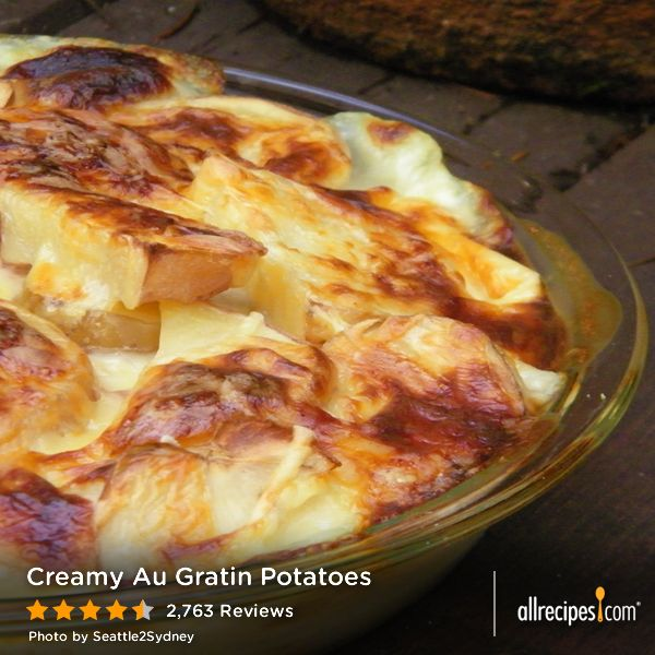 """Creamy Au Gratin Potatoes 