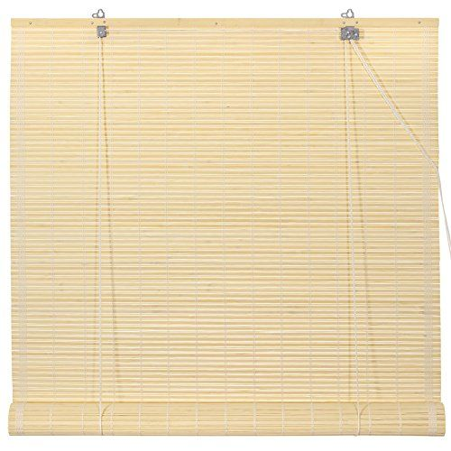 Oriental Furniture Bamboo Roll Up Blinds  Natural  60 in x 72 inB >>> Check out the image by visiting the link.