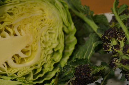 Cabbage And Broccoli Soup - Use up your lovely greens to make a nourishing and warming soup. All the goodness of the vegetables in a bowl