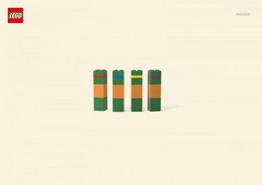 Loving Lego's Imagine campaign...Lego minimalist cartoons