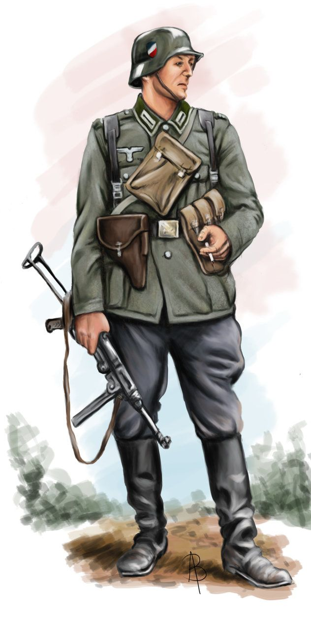 German Unteroffizier by sandu61