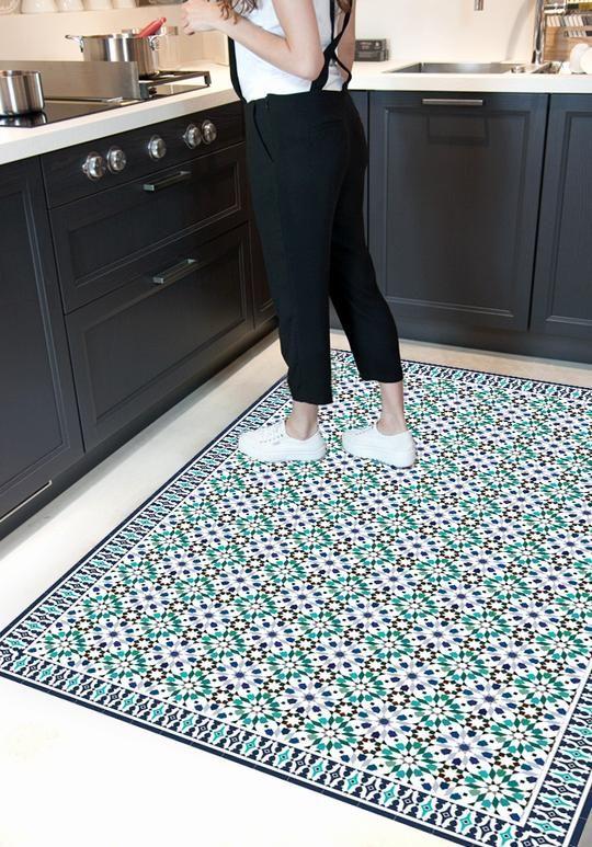 Geben Sie Ihrem Zuhause Leben, Ohne Arbeit Zu Machen! Der Teppich  Marrakesch Ist Von Den Schönen Mosaiken Von Fliesen Charakteristisch Für U2026