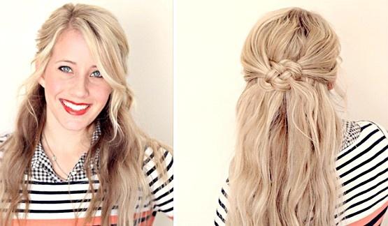 Procurando um penteado bonito e diferente? Confira o passo a passo do nó celta