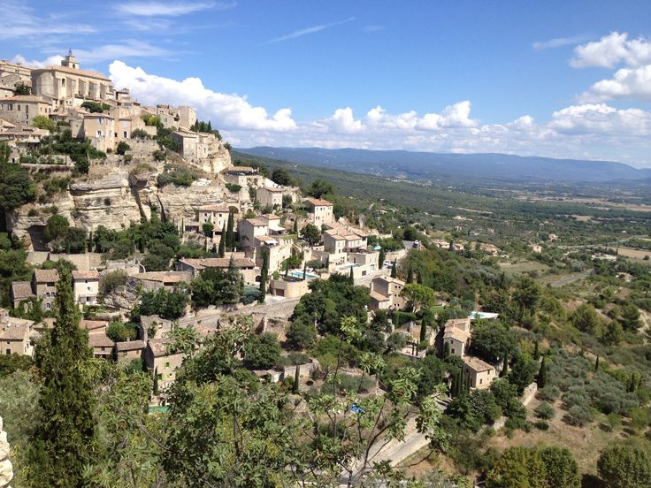 Luberon.  Fell in love with Provence last summer. One of 'our first-time experiences my husband and I shared together throughout the years.
