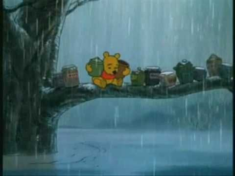 Rainy day song in the Many Adventures of Winnie the Pooh.
