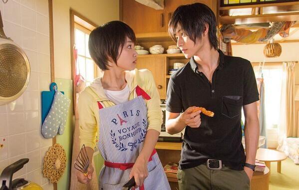 "Kento Yamazaki x Ayame Goriki, ""I love your cooking!!!"", J live-action Movie from manga ""L♡DK"", 2014. Plot & Movie [Eng. Sub]"