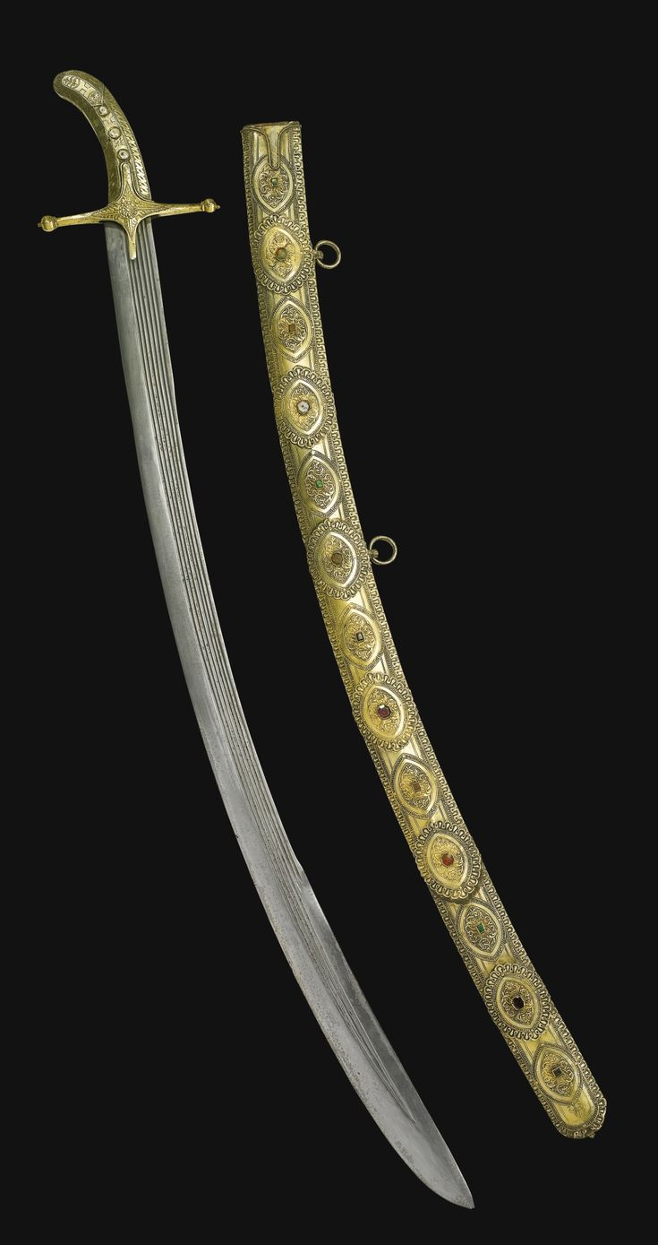 A very fine presentation sword taken as booty at the Siege of Seringapatam, of Eastern European manufacture, late 16th century. Taken from Tippoo (Tipu Sultan) Saib, Seringapatam, 1799