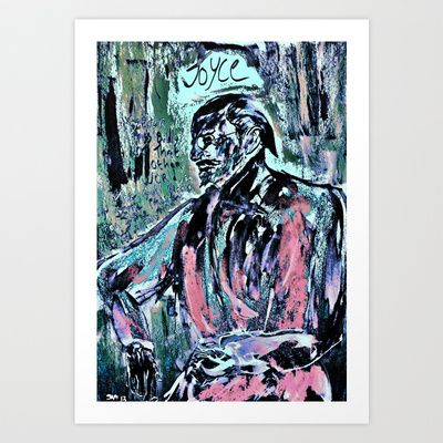 James Joyce Art Print by Shane R. Murphy - $19.00