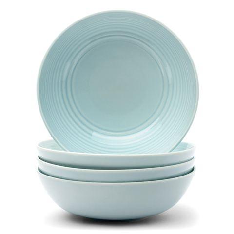 $19 ea. Royal Doulton - Gordon Ramsay Blue Maze Cereal Bowl Set 4pce | Peter's of Kensington