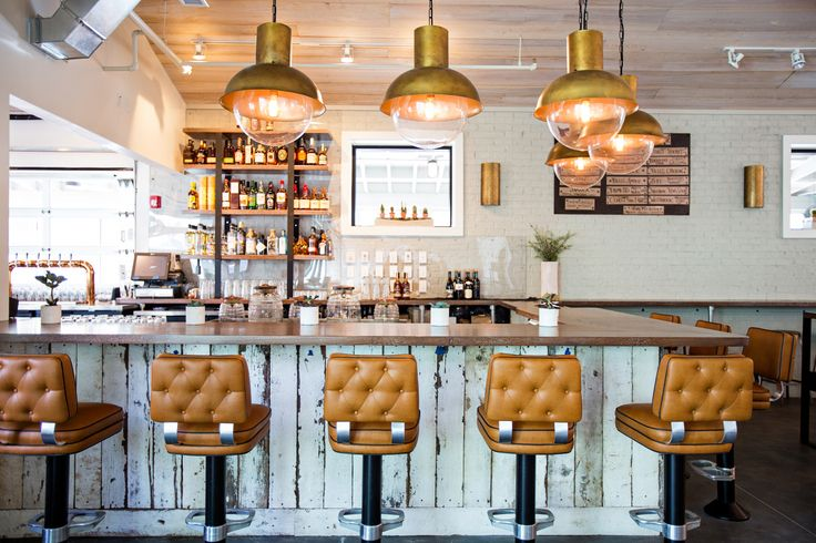 Obsessed with the bar at Lewis BBQ in Charleston designed by Southern C Summit alum and interior designer Betsy Berry.