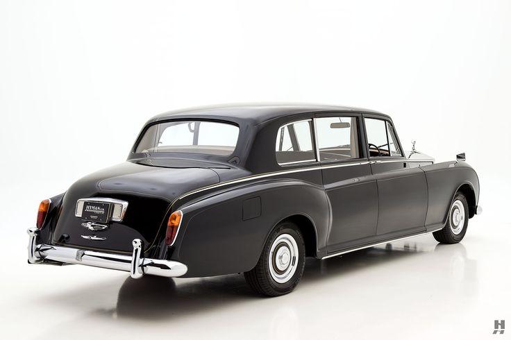 1960 rolls-royce phantom v by park ward limousine