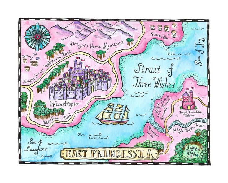 Best Maps Images On Pinterest Map Illustrations Cards And - Children's maps to print