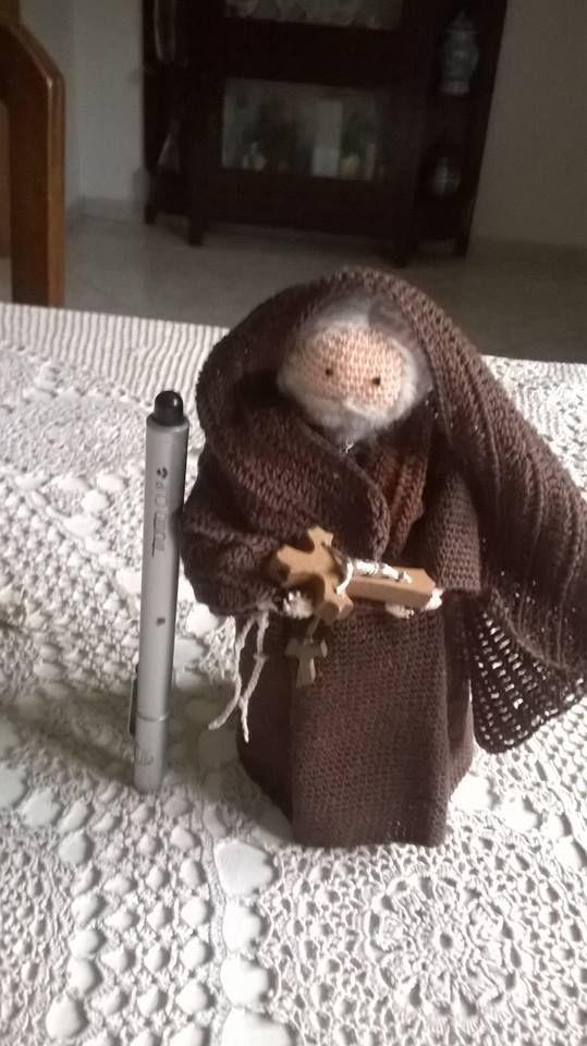 adre pio#pietralcina#frate#foggia#amigurumi #crochet#uncinetto