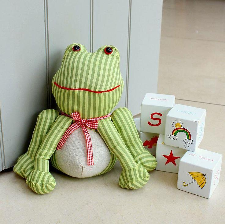 Jeremy Frog Doorstop