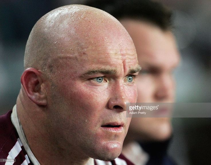 Ben Kennedy of the Sea Eagles looks on from the bench during the NRL First Semi-final match between the St George Illawarra Dragons and the Manly Warringah Sea Eagles at Aussie Stadium on September 15, 2006 in Sydney, Australia.