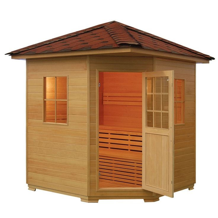 3 - 4 PERSON OUTDOOR TRADITIONAL SAUNA WITH 6kW STOVE AND FREE DELIVERY in Home, Furniture & DIY, Bath, Saunas   eBay!