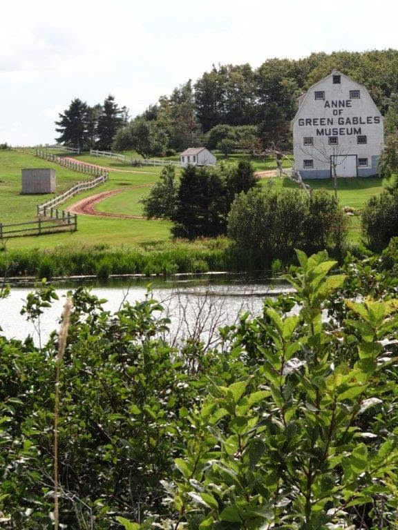 Anne of Green Gables Museum in Park Corner (Silver Bush). Lake of Shining Waters. Prince Edward Island, eastern CANADA