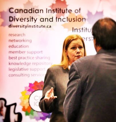 Meet the incomparable Cathy Gallagher-Louisy, CIDI-ICDI's Director, Community Partnerships and Knowledge Services.  Here she is taking the HRPA 2013 by storm!