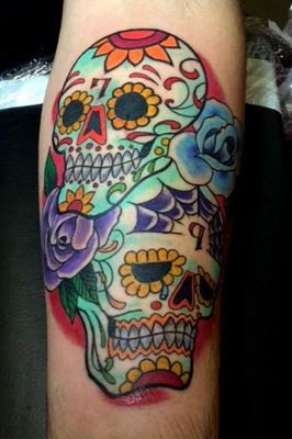 Sugar Skull Tattoos by The Red Parlour Tattoo Woodside Queens NY NY ...