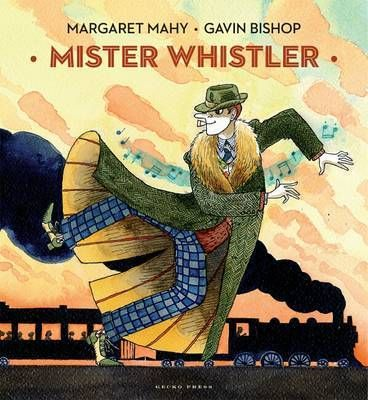 2013 Picture Book winner: Absentminded Mister Whistler always has a song in his head and a dance in his feet. In a rush to catch the train, he is so distracted he loses his ticket. Is it in the bottom pockets of his big coat or the top pockets of his jacket? Perhaps he slipped it into his waistcoat...Where is Mister Whistler's ticket?