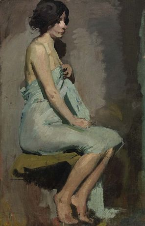 Study of a Seated Woman by Alice Pike Barney / American Art