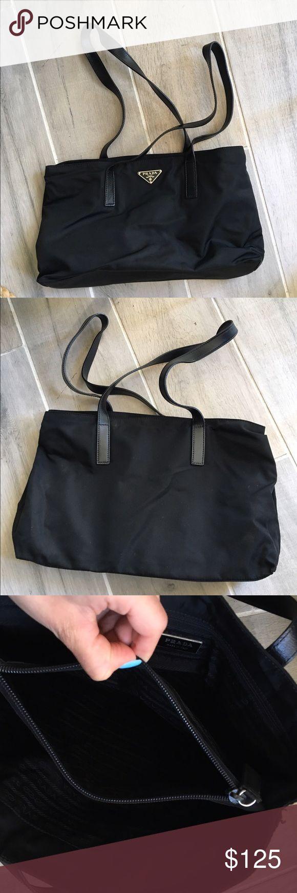🎉2 HOUR SALE🎉 PRADA SMALL BLACK PURSE Authentic. Prada Bags Mini Bags
