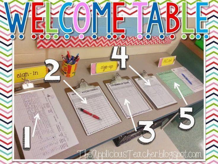 Classroom Ideas For Teachers ~ Best images about meet the teacher night on pinterest