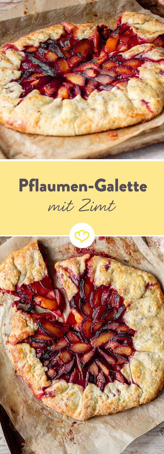Rustikale Pflaumen-Galette – die bretonische Köstlichkeit