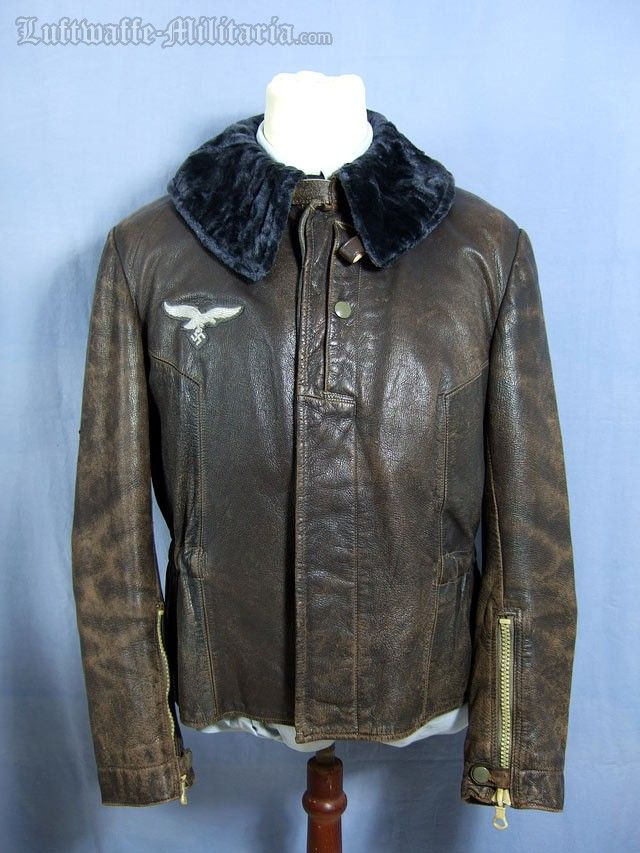 Surprising Luftwaffe Issued Leather Flight Jacket This Is The Rare Unheated Wiring Digital Resources Operbouhousnl