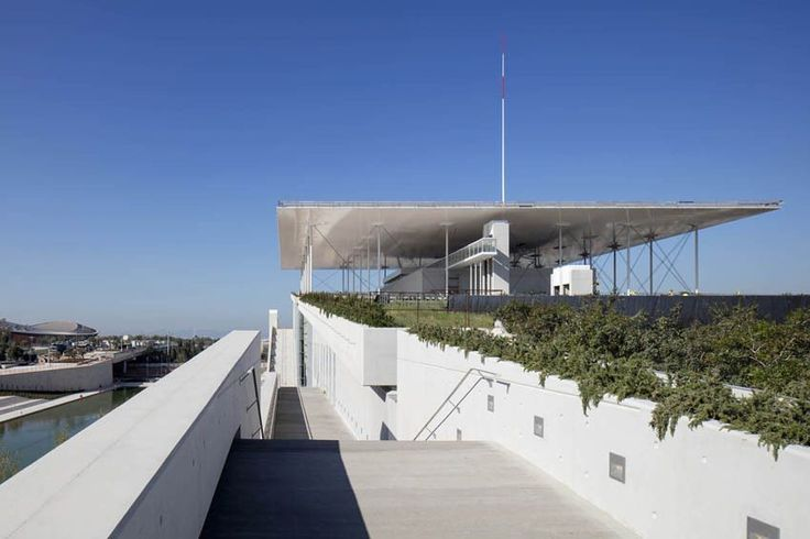 Image 1 of 22 from gallery of Stavros Niarchos Foundation Cultural Centre  / Renzo Piano Building Workshop. Photograph by Michel Denancé