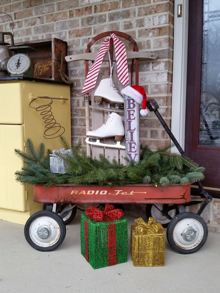 VINTAGE WAGON Repurposed All Over Again