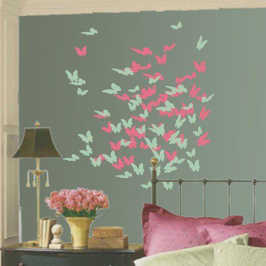 Πεταλούδες,  αυτοκόλλητο τοίχου ,23,30 €,https://www.stickit.gr/index.php?id_product=4207&controller=product
