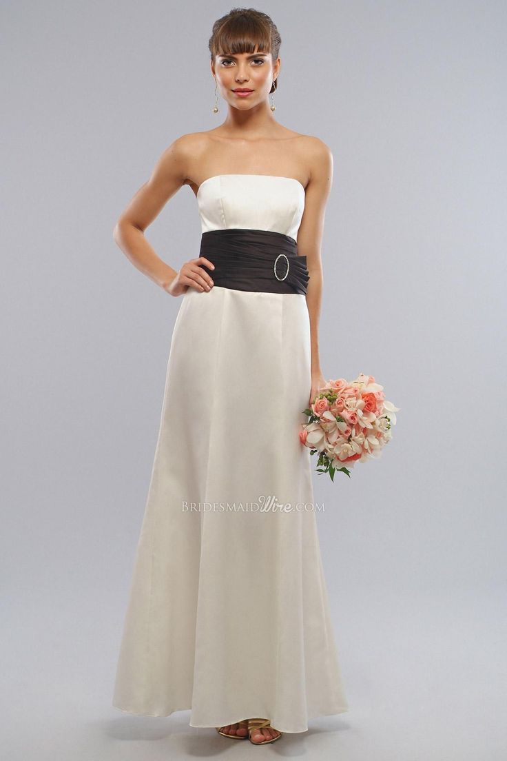 26 best White Bridesmaid Dresses images on Pinterest | Bridal gowns ...