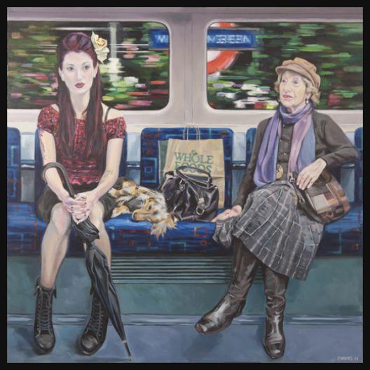Ewing Tube: artist recreates entire underground carriage – Now ...