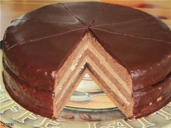 Торт Прага (по ГОСТу)