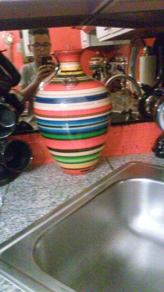 A designer vase, It is from Brazil