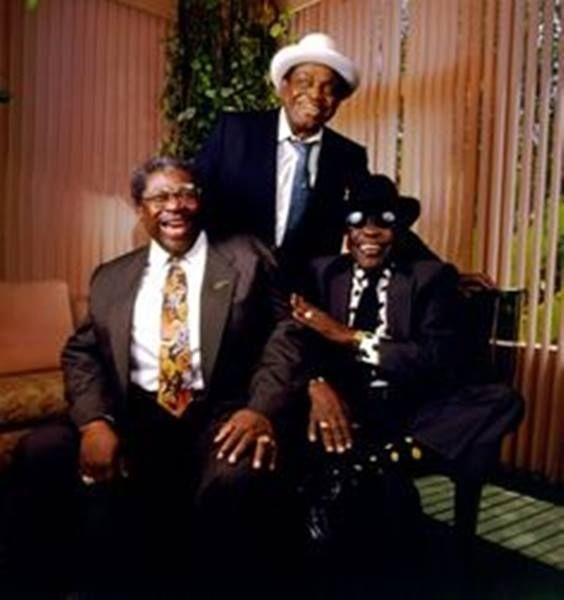 B B King, Willie Dixon, John Lee Hooker!