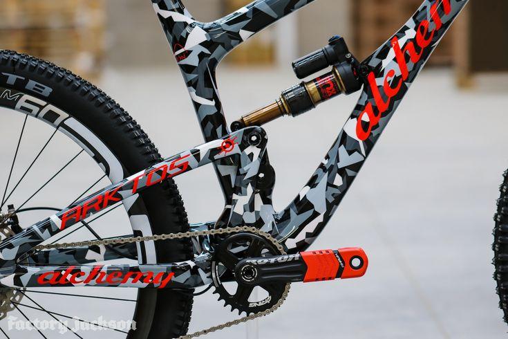 Factory Jackson Bike, Carbon fiber, Bicycle