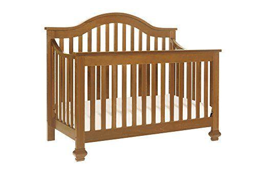 DaVinci Clover 4-in-1 Convertible Crib, Chestnut