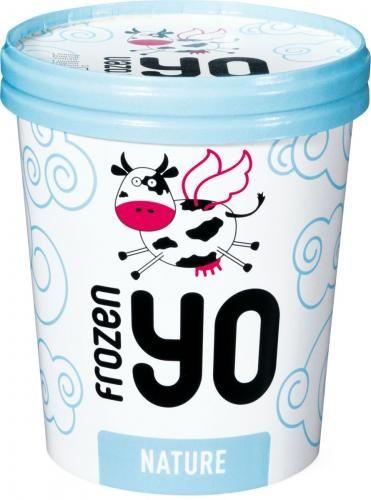 Migros Frozen Yo Nature Joghurt Glace #icecream #packaging #yogurt