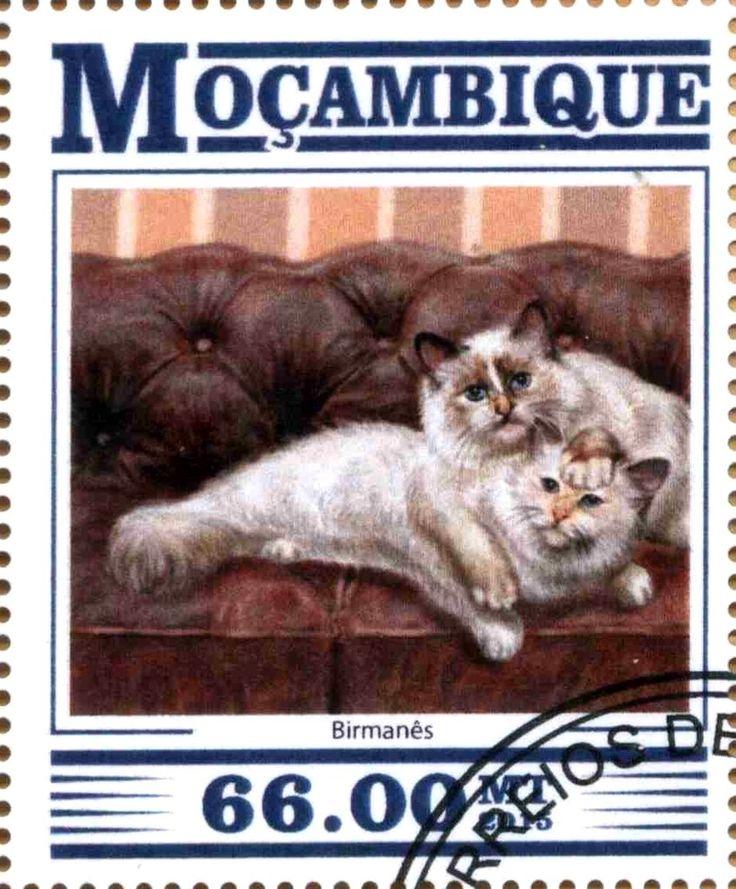 Stamp: Birmanes (Mozambique) Col:MZ 15307a1