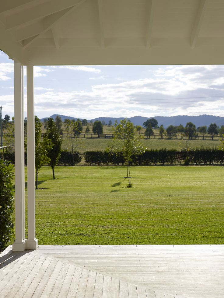 Beautiful vistas surround this farmhouse. Landscape design by Gay Stanton. See original image at http://www.michaelbellarchitects.com/residential-6/residential-6-picture-1/
