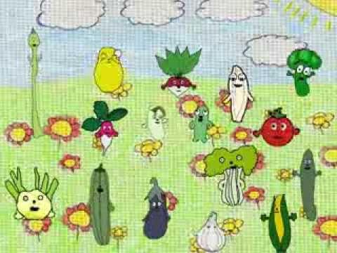 la chanson des legumes...