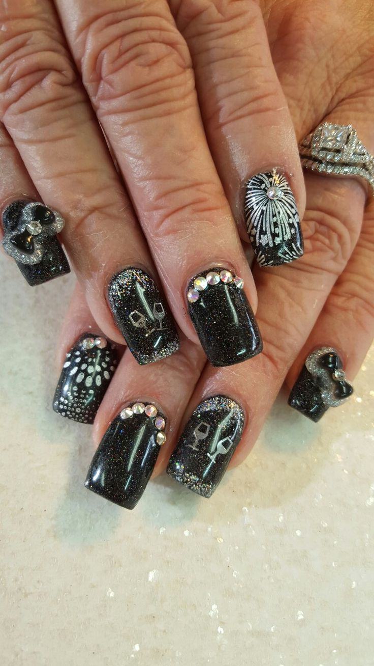 39 best My Blingy Nails images on Pinterest | Cheetah nails, Finger ...