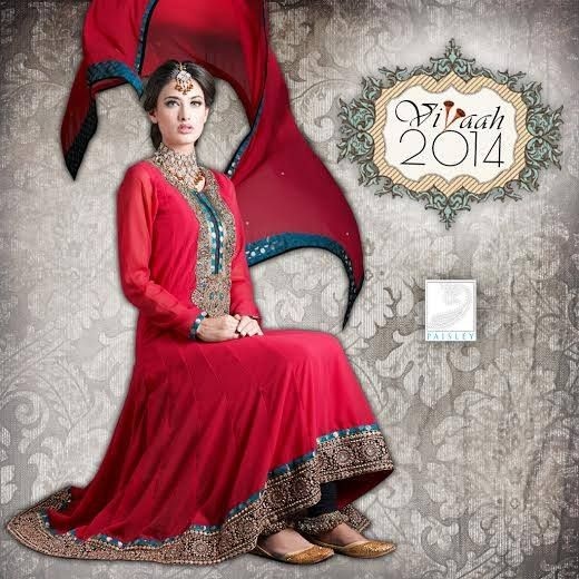 #Vivaah2014 collection signifies the impeccable combination of latest trends & patterns for the ideal Bride's clothing!!