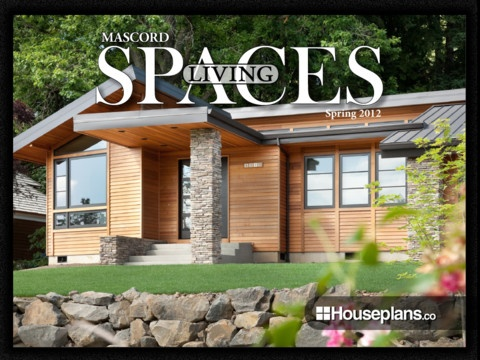 Mascord 39 s new house plan magazine living spaces for Mascord plans