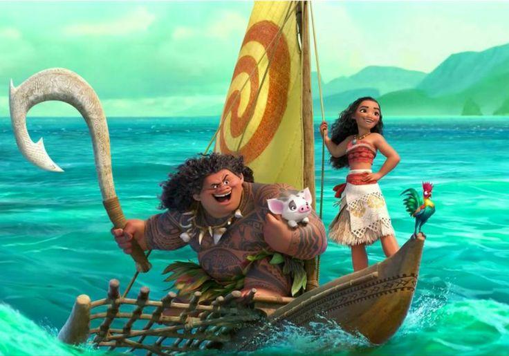 Assista ao trailer de Moana, novo filme da Disney