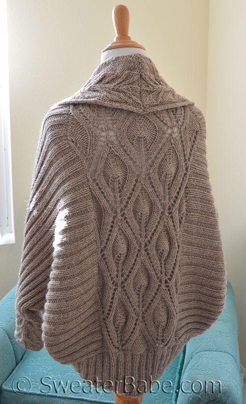 Knitting Pattern Cocoon Cardigan : Ravelry: #191 Tabitha Cocoon Cardigan pattern by SweaterBabe Knit Cardigans...