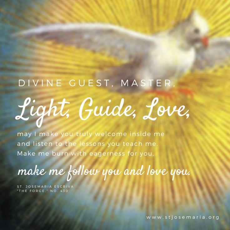 Holy Spirit: Light, Guide, Love