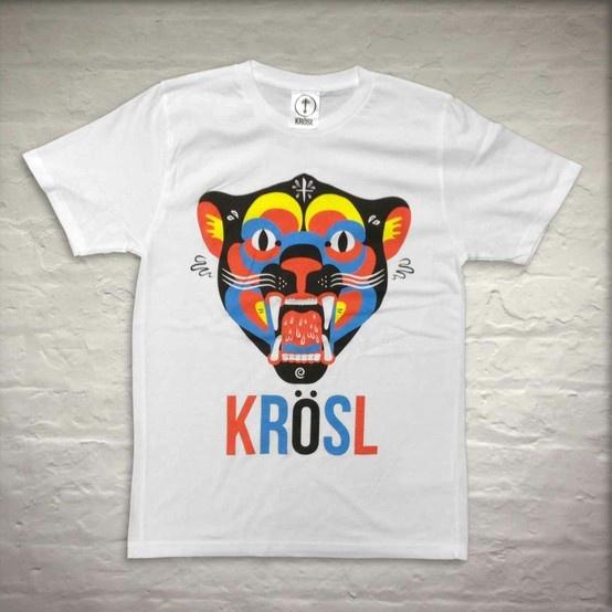 Krosl | Cat Tee  #blackburn #blackburnisopen #fashion #clothing #screenprint